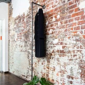 Kleiderstange Industrial Design Wasserrohr Standgarderobe