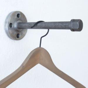 Kleiderhaken Industrial Design Temperuss Stahlrohr Ankleide
