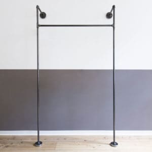 Offener Kleiderschrank Industriedesign Temperguss Wasserrohr Moebel Offene Garderobe Wunschgröße