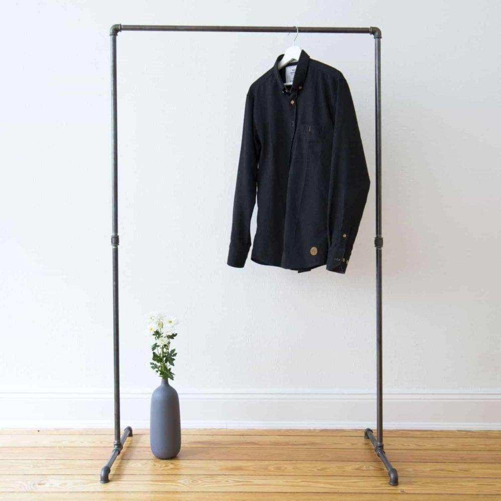 Kleiderständer Industrial Design Wasserrohr Garderobenständer
