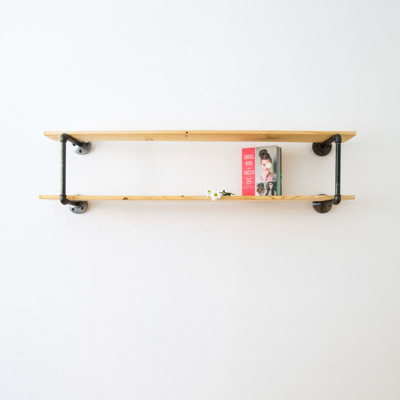 Wohnzimmer Regal Industrial: Regal Industrial Design: Stabiles Regalsystem Auf Maß