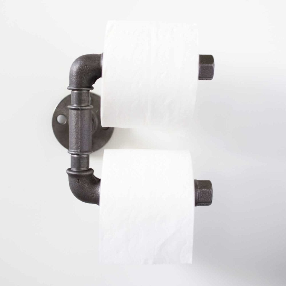 Klopapierabroller Industrial Design Klorollenhalter Industriedesign Temperguss