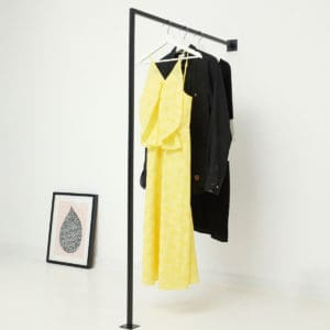 Garderobenstange Industrial Design geschweisst pulverbeschichtet skandinavisch