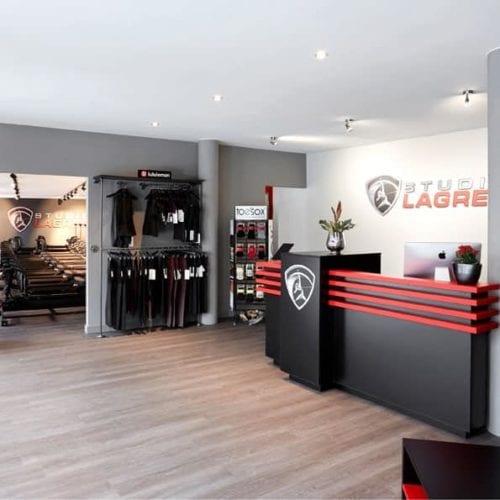 Ausstattung eines Fitness-Studios