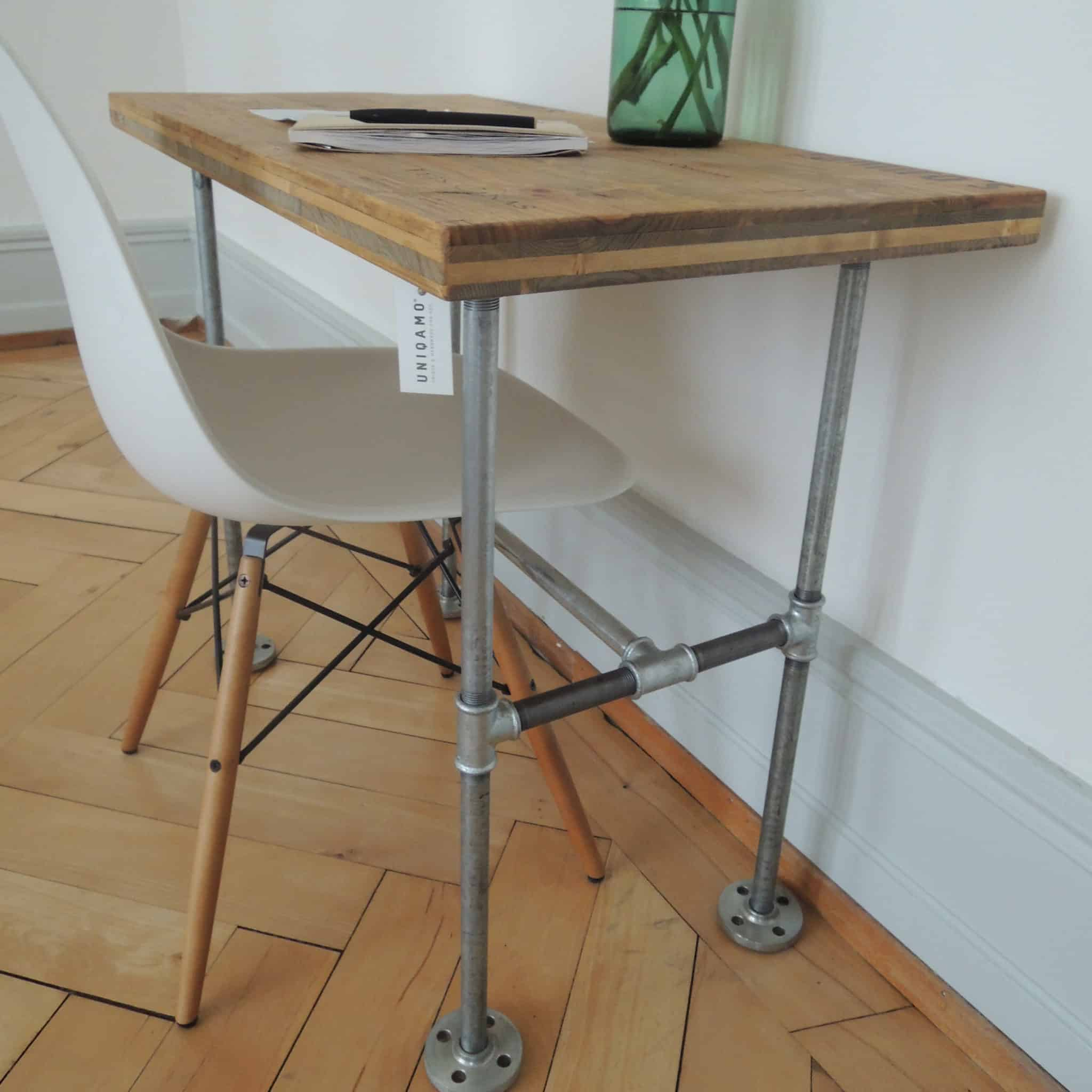 Stahlrohr Tischgestell Industrial Look in Wunschmaßen