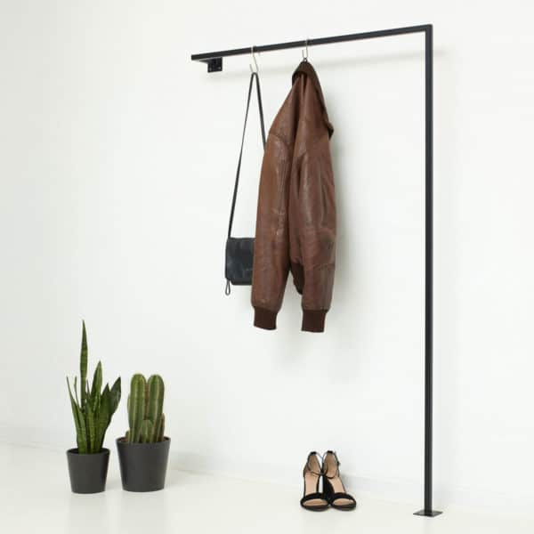 Kleiderstange Garderobe für schmalen Flur