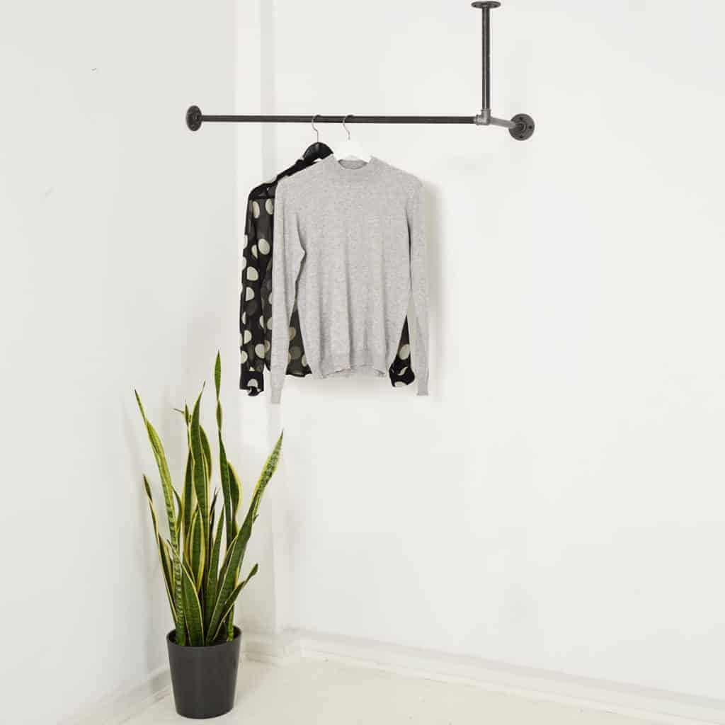 Garderobenstange Industrial Design in Wunschgröße