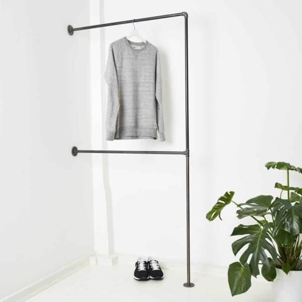 Doppelte Kleiderstange Industrial Design