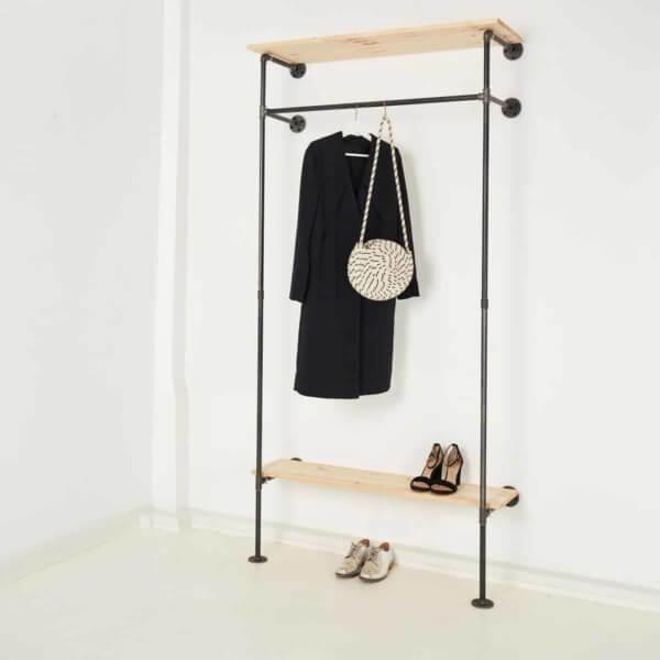 Offener Kleiderschrank Ankleidesystem Industrial Design